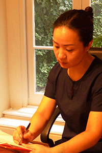 Chinese Acupuncturist, Malou Wang, Acupuncture Dublin South